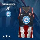 Philadelphia 76ers x Captain...