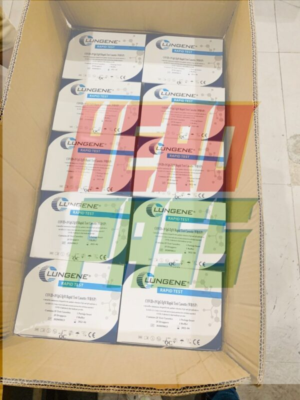 Clungene Rapid test kits