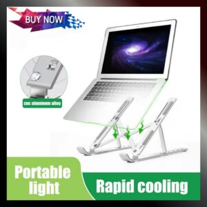 Portable Laptop & Tablet Stand - Heavy Duty Aluminum Alloy
