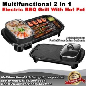 Samgyup Korean Electric Grill Model 1388