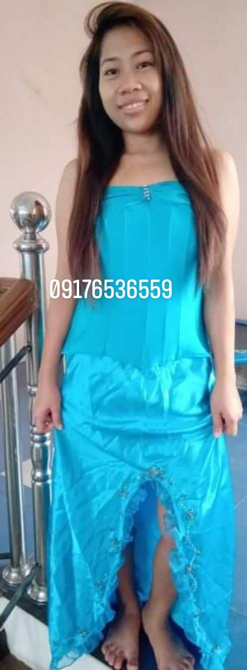 debutant's gown image
