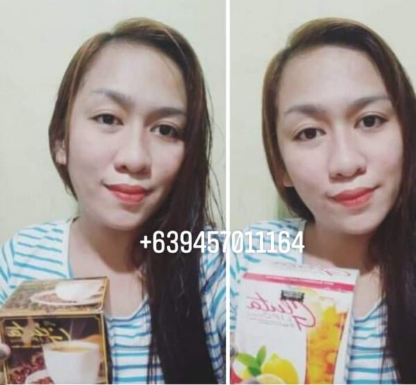Gluta Lipo coffee and lemon flavor images