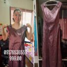 Magenta Evening Gown
